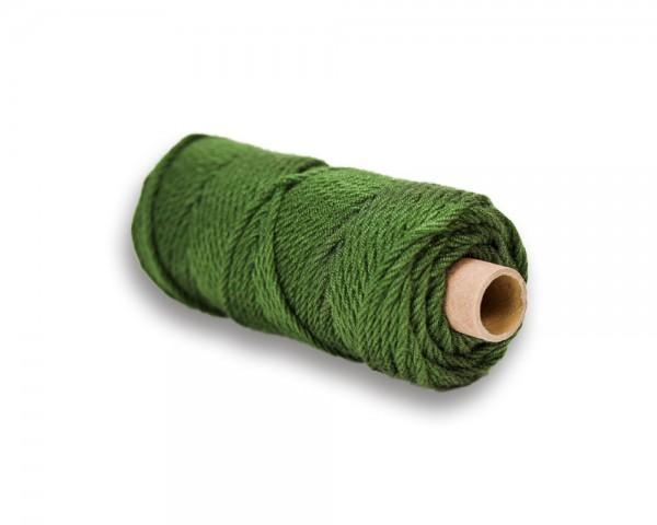 Makrameegarn Acryl grün 5 mm, 70 m