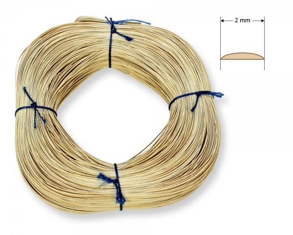 Stuhlflechtrohr Blauband 2 mm 1/4 kg