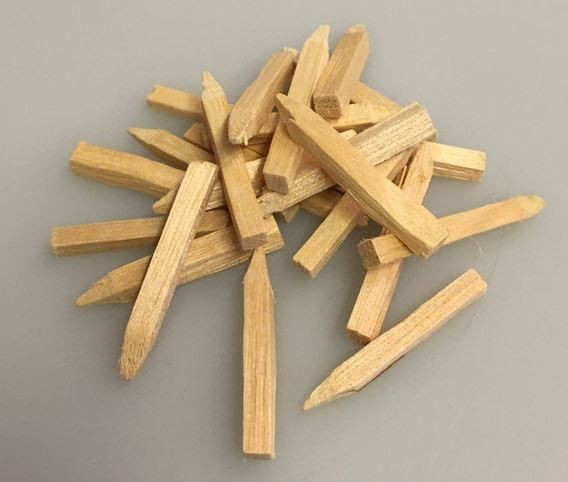 Holz-Haltestifte 3 x 26 mm