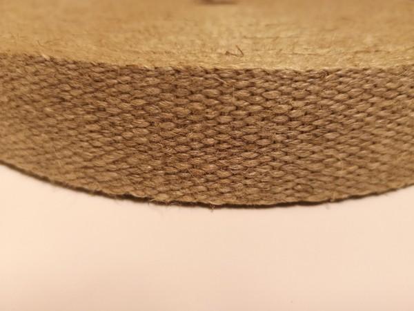 Hanfzwirngurt 20 mm