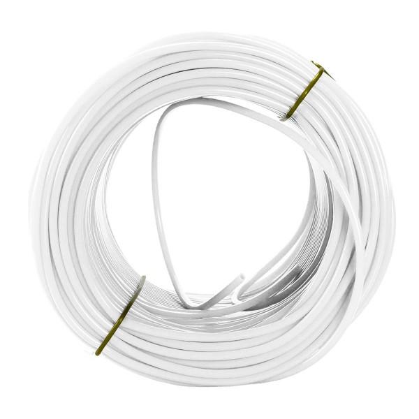 Spaghettischnur polarweiß