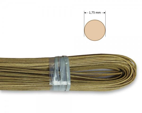 Peddigrohr rund geräuchert 1,75 mm