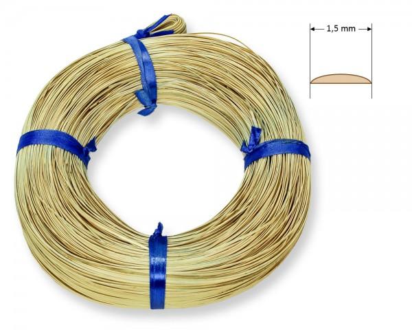 Stuhlflechtrohr Goldband 1,5 mm 1/4 kg