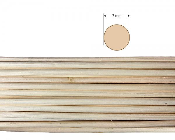 Peddigrohr rund natur 7 mm