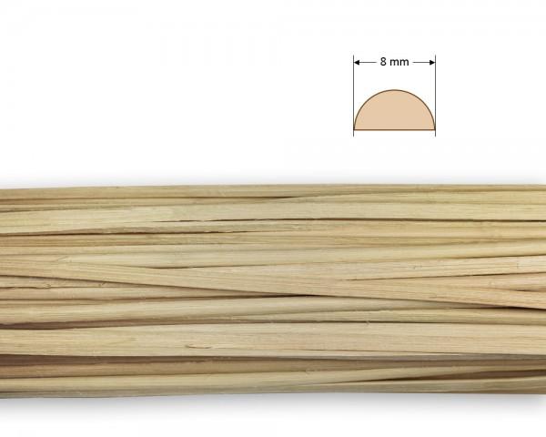 Peddigrohr gespalten natur 8 mm