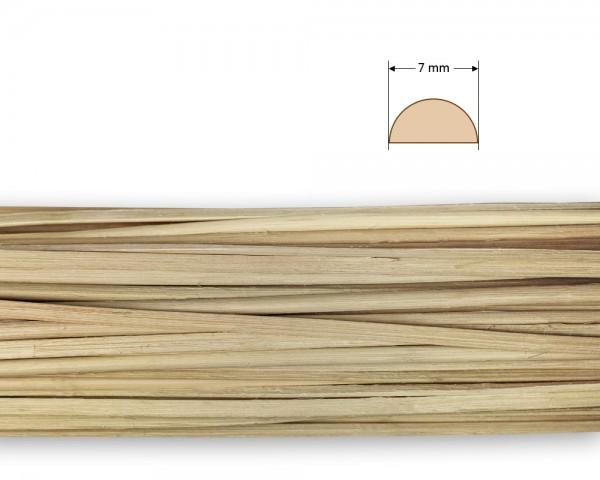 Peddigrohr gespalten natur 7 mm