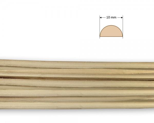 Peddigrohr gespalten natur 10 mm