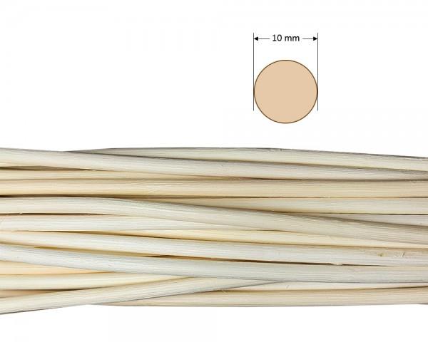 Peddigrohr rund natur 10 mm