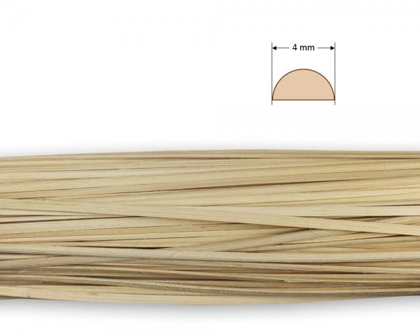 Peddigrohr gespalten natur 4 mm