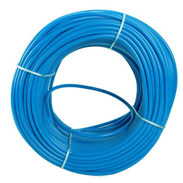 Spaghettischnur himmelblau