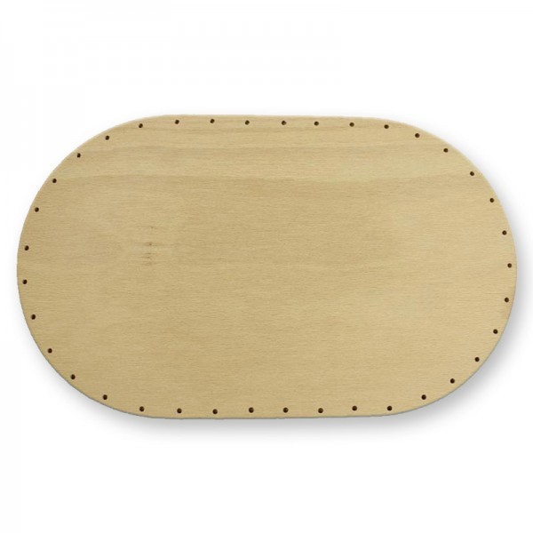 Flechtboden Oval lang 30 x 18 cm