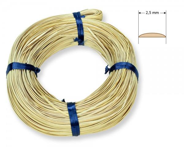 Stuhlflechtrohr Goldband 2,5 mm 1/4 kg
