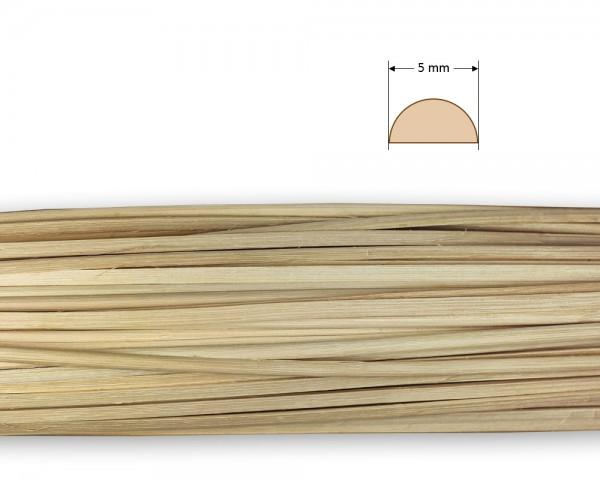Peddigrohr gespalten natur 5 mm